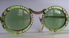birdcagewalk:ein-bleistift-und-radiergummi:1960's Vintage Christian Dior Mod Sunglasses.