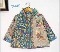 Batik Blazer, Blouse Batik, Batik Dress, Mode Batik, Batik Solo, Batik Kebaya, Diy Kleidung, Batik Fashion, Curvy Girl Outfits