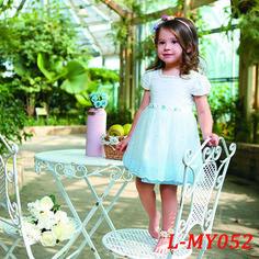 Amazing Unique Cap Sleeveless Baby Dress Girls Dress contact:moon01@moonyao.com  #GirlClothing #KidsClothing #GirlDress #KidsDress