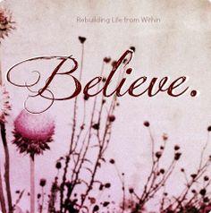 Never stop believing ♪♫♪