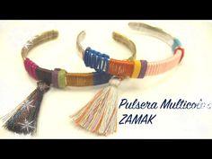 Abalorios - Pulsera Multicolor de Zamak - YouTube