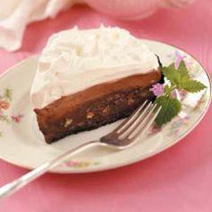 Mud pie.  Decadent and delicious!
