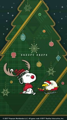 Peanuts Christmas, Charlie Brown Christmas, Christmas Fun, Christmas Cards, Xmas, Snoopy Images, Snoopy Pictures, Cute Wallpaper Backgrounds, Cute Wallpapers