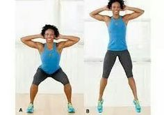 Squat with jump