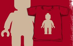 """""""Minifig [Large Flesh Pink] by Customize My Minifig"""" Kids Clothes by ChilleeW   Redbubble"""