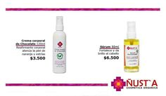 https://www.facebook.com/nusta.cosmetica.organica/ Productos 100% naturales #CremaCorporalDeChocolate #Serum