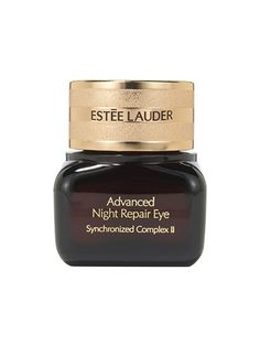 Estée Lauder Advanced Night Repair Eye Tapping on this hydrating formula, which is more of a solid gel than a traditional eye cream, feels like slipping on the dreamiest, silkiest, most expensive sleep mask ever. A few nights a week I'll cover my entire eye area with it so it can sink in overnight, which does wonders for keeping the delicate skin smooth and springy.
