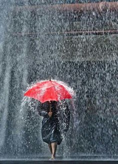 I love rain! Rainy Day Photography, Rain Photography, Street Photography, Rain Storm, No Rain, Walking In The Rain, Singing In The Rain, Christophe Jacrot, I Love Rain