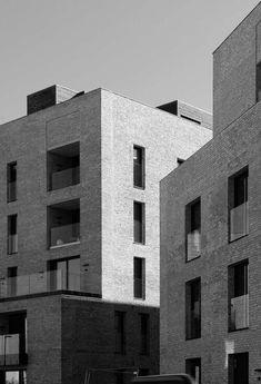 P77-79 — Reiulf Ramstad Arkitekter Urban Village, Urban Intervention, Duplex Apartment, Urban Fabric, Residential Complex, Small Buildings, Common Area, Willis Tower, Norway