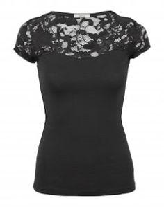 Women's Floral Lace Top