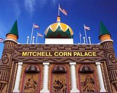 The Corn Palace (South Dakota).  Road-trip with a best friend an randomly ran into this place.