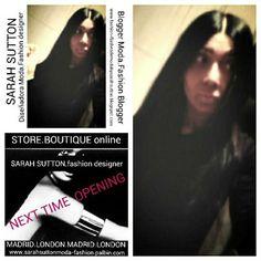 Proximamente si Dios kiere abro mi boutique online con mis diseños exclusivos sarahsuttonmoda-fashion.palbin.com