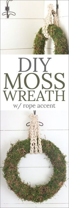 DIY Moss Wreath - th