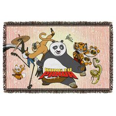 "Checkout our #LicensedGear products FREE SHIPPING + 10% OFF Coupon Code ""Official"" Kung Fu Panda/Kung Fu Group-Woven Throw-White - Kung Fu Panda/Kung Fu Group-Woven Throw-White - Price: $44.99. Buy now at https://officiallylicensedgear.com/kung-fu-panda-kung-fu-group-woven-throw-white"