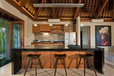 bali kitchen | bar and kitchen business center tv room tv room and