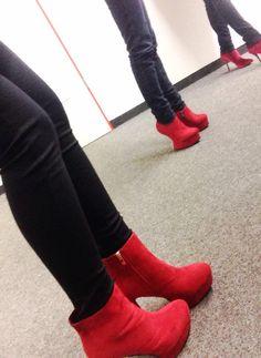 We ♥ red! - Wir sehen rot im Büro :P