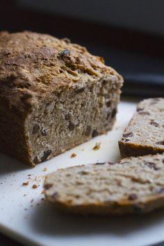 Sourdough Cinnamon Raisin Bread. A much healthier version of your favourite breakfast treat!