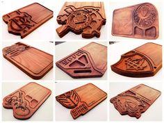 Resultado de imagem para capas de cadernos de madeira cnc