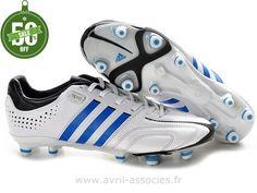 Boutique Chaussures de foot adidas adipure 11Nova TRX FG Blanc Noir (Adidas Gazelle Pas Cher)