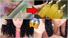 DIY ALOE VERA OIL for natural hair! 😍 Hair growth guaranteed! *must watch* - YouTube