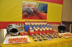 Motorcross Birthday Party Ideas | Photo 1 of 26