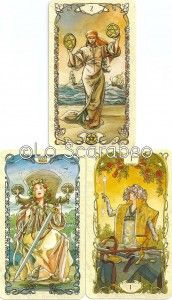 Weekly reading on 4th May 2015 from innerwhispers.co.uk with the Mucha Tarot