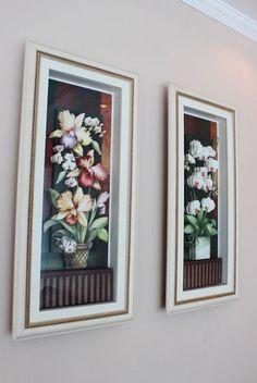 Quadros Orquídeas Arte Francesa http://milaluz.com/?p=377