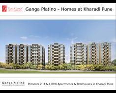 Ganga Platino presents Luxury Flats in Kharadi Pune for Sale