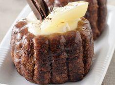 Découvrez la recette Charlotte poire, chocolat et mascarpone sur cuisineactuelle.fr.