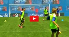 One Touch Soccer Drill. The best videos and articles on the web for football coaches.