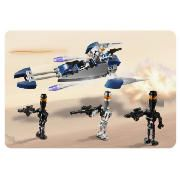 Lego Star Wars Assassin Droids Battle Pack Build up your battle forces!Take control in the Clone Wars with this flick missile firing droid speeder.Unleash the assassin droids on the Jedi!Features five all new mini figures- three assassin droid http://www.comparestoreprices.co.uk//lego-star-wars-assassin-droids-battle-pack.asp