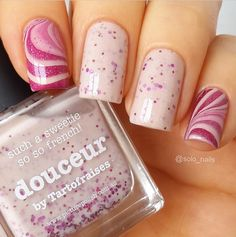 piCture pOlish 'Doucuer + Beige' soft marble nails by Solo Nails WOW shop on-line: www.picturepolish.com.au