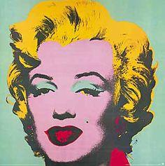Andy Warhol - Marilyn Monroe (türkis) , 1967 - jetzt bestellen auf kunst-fuer-alle.de