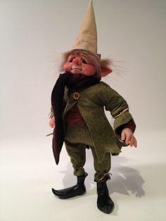 Original OOAK Art Doll  House Elf, via Etsy.