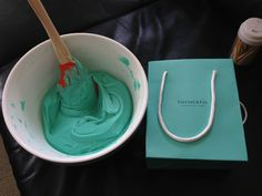 Tiffany & Co butter cream frosting...