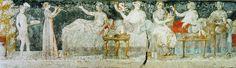 Banquet, tombe d'Agios Athanasios - Ancient Macedonians - Wikipedia, the free encyclopedia