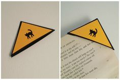 Easy DIY Corner Bookmarks