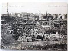 La Città Universitaria in costruzione Anno: Primi anni '30 (fu inaugurata nel 1935)