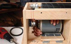 Build your own drum sander.