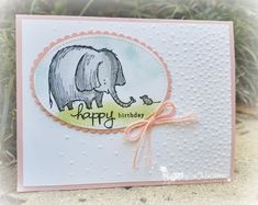 Lovely Baby Card, using Love You Lots stamp set, Softly Falling TIEF, Layering Oval and Stitched Shapes Framelits from Stampin' Up! Visit my demonstrator webpage 24/7 at http://www.minervamatthews.stampinup.net
