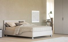 Flou bed with underbed storage