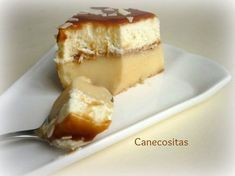 El sabor que recuerda a las tartas caseras de siempre, combinación de crema pastelera con nata, bañada con salsa de caramelo o toffe. ¿Te resistes a probar?