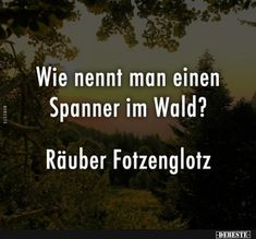 Wie nennt man einen Spanner im Wald? What do you call a tensioner in the forest? Jokes Quotes, True Quotes, Funny Quotes, Funny Memes, Hilarious, Funny Lyrics, Llamas, Funny As Hell, Funny Messages