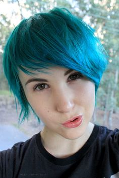 blue and purple hair - Google Search