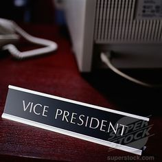 one day, i'll be a vp