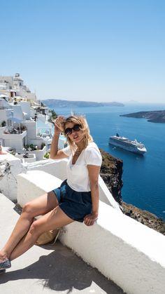 Santorini is such a beautiful island #greece #mseuropa2 #weibitravels