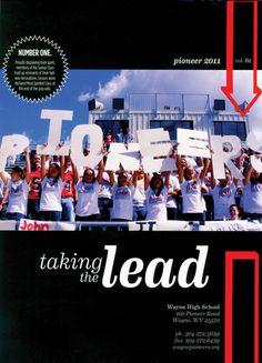 Wayne High School Yearbook Spreads, Yearbook Covers, Yearbook Layouts, Yearbook Design, Yearbook Ideas, Jostens Yearbook, Yearbook Template, School Fonts, High School Yearbook