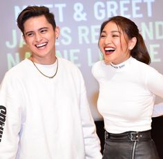 James Reid, Nadine Lustre, Jadine, Partners In Crime, My Forever, Relationship Goals, Beautiful Pictures, It Cast, Ruffle Blouse