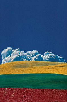 Abstract Colour Landscapes by Franco Fontana » Design You Trust. Design, Culture & Society.