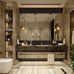 Luxury Bathroom Master Baths Dreams is unquestionably important for your home. Whether you choose the Interior Design Ideas Bathroom or Luxury Master Bathroom Ideas, you will make the best Luxury Bathroom Master Baths Bathtubs for your own life. Luxury Master Bathrooms, Bathroom Design Luxury, Dream Bathrooms, Master Baths, Luxurious Bathrooms, Modern Bathrooms, Bathroom Ideas Uk, Bathroom Inspiration, Bathroom Mirrors